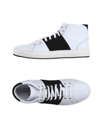 Daniele Alessandrini Footwear High Tops And Trainers Men White