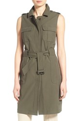 Women's Olivia Palermo Chelsea28 Long Military Vest