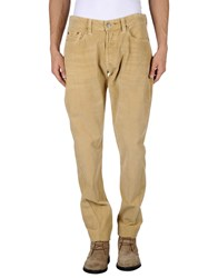 Htc Trousers Casual Trousers Men Sand