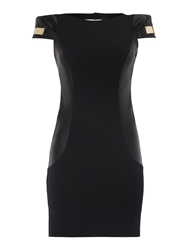Relish Louise Pencil Dress Black