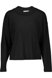 Kain Label Drew Ribbed Stretch Modal Sweater Black