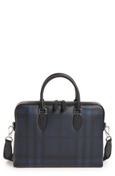 Burberry Men's The Barrow Coated Canvas Briefcase