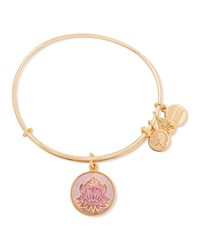 Alex And Ani Art Infusion Peace Petals Expandable Wire Bangle Gold