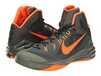 Nike Hyperdunk 2014 Deepest Green Iron Green Peach Cream Hyper Crimson Men's Basketball Shoes Gray