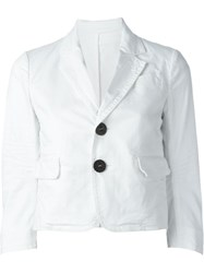 Dsquared2 Cropped Blazer White