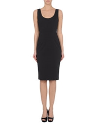 Antonio Fusco Short Dresses Black