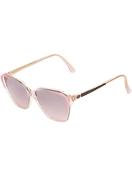 Trussardi Clear Sunglasses Pink And Purple