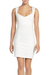 French Connection Women's 'Lula' Stretch Body Con Dress