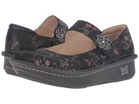 Alegria Paloma Sweetie Pie Suede Women's Maryjane Shoes Black