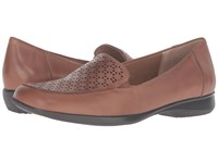 Trotters Jenn Laser Rust Soft Nappa Leather Bronze Metallic Women's Slip On Shoes Brown
