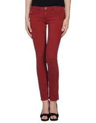 Unlimited Denim Pants Brick Red