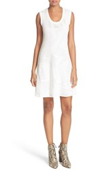 M Missoni Women's Rib Stitch Knit Fit And Flare Dress