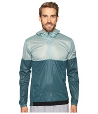 Adidas Climastorm Anorak Vapour Steel Tech Green Men's Sweatshirt