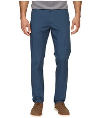 Calvin Klein Four Pocket Sateen Bowery Casual Pants Majorlica Blue Men's Casual Pants