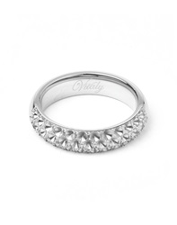 Vitaly Anti Stone X Stainless Steel Ring