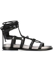 Ash 'Magnum' Sandals Black
