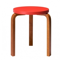 Aalto Stool 60 Orange Honey Stools Furniture Finnish Design Shop