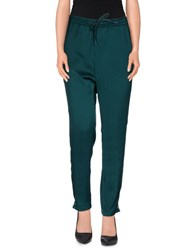 Replay Trousers Casual Trousers Women Dark Green