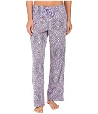Jockey Novelty Print Long Pants Monaco Geo Women's Pajama Blue