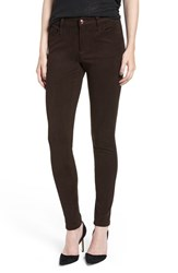 Joe's Jeans Women's 'Icon' Faux Suede Ankle Skinny Pants Smokey Quartz