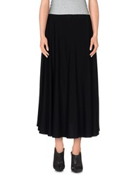 Borbonese Skirts 3 4 Length Skirts Women Black
