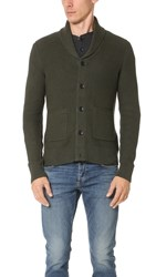 Rag And Bone Standard Issue Avery Shawl Cardigan Army Green