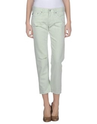 Ag Adriano Goldschmied Denim Pants Light Green