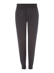 Hugo Boss Monopoli Tapered Fit Casual Tracksuit Bottoms Charcoal
