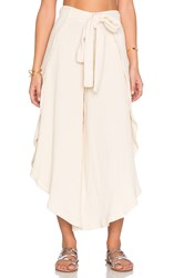 Free People Poppy Petal Pant Cream