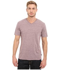 Threads 4 Thought Baseline Tri Blend V Neck Tee Oxblood Men's T Shirt Red