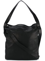 Ann Demeulemeester Oversize Shoulder Bag Black