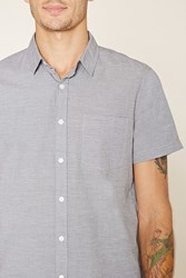 Forever 21 Two Tone Pocket Shirt