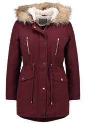 Dorothy Perkins Petite Parka Red