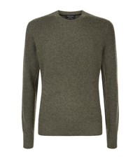 Rag And Bone Crewneck Cashmere Jumper Male Green