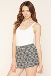 Forever 21 Contemporary Abstract Shorts
