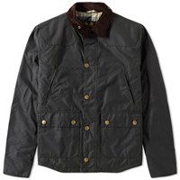 Barbour Reelin Wax Jacket Green