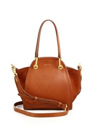 Maiyet Peyton Mini Leather And Suede Tote