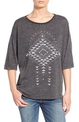 Junior Women's Project Social T Diamond Graphic Tee