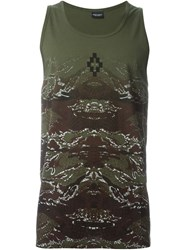 Marcelo Burlon County Of Milan 'Banes' Tank Top Green