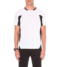 Polo Ralph Lauren Body Mapped Jersey T Shirt Pure White