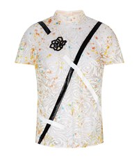 Christopher Kane Lace Embroidered Top Female Yellow