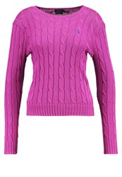Polo Ralph Lauren Julianna Jumper Hyannis Purple