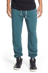 Alternative Apparel 'Dodgeball' Eco Fleece Sweatpants Blue