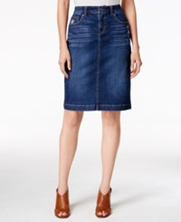Styleandco. Style Co. Denim Tummy Control Pencil Skirt Only At Macy's Lightening