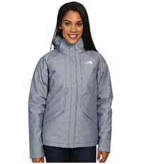 The North Face Inlux Insulated Jacket Shady Blue Chambray Women's Jacket