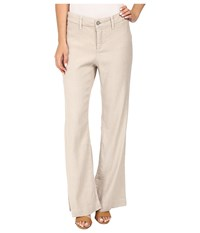Nydj Petite Claire Trousers Sand Dollar Women's Casual Pants Multi