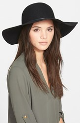 Junior Women's Bp. Rope Trim Floppy Felt Hat