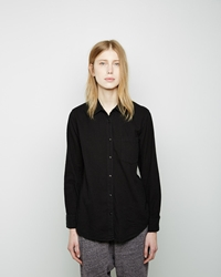 Steven Alan Untwisted Boyfriend Shirt Black