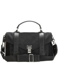 Proenza Schouler Ps1 Medium Nylon Shoulder Bag Black