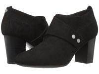 Easy Spirit Aldea Black Suede Women's Shoes